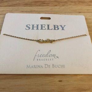 Shelby Name Bracelet